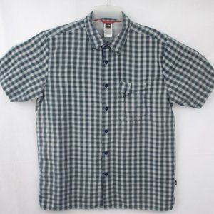 The North Face Short Sleeve Button Up Men's Sz L